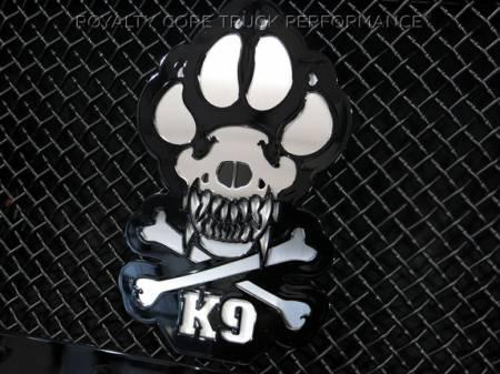 Gallery - CUSTOM DESIGNED LOGOS - Royalty Core - Custom K9 Emblem
