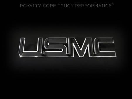 Gallery - CUSTOM DESIGNED LOGOS - Royalty Core - USMC LETTERING