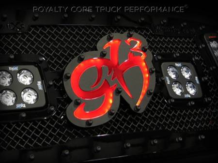 Gallery - Custom Emblems, Logos, and Badges - Royalty Core - Custom George Hill Emblem