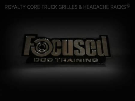Gallery - CUSTOM DESIGNED LOGOS - Royalty Core - Custom Focused Dog Training Emblem
