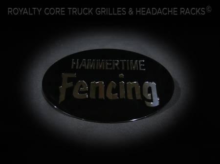 Gallery - CUSTOM DESIGNED LOGOS - Royalty Core - Custom Hammertime Fencing Emblem