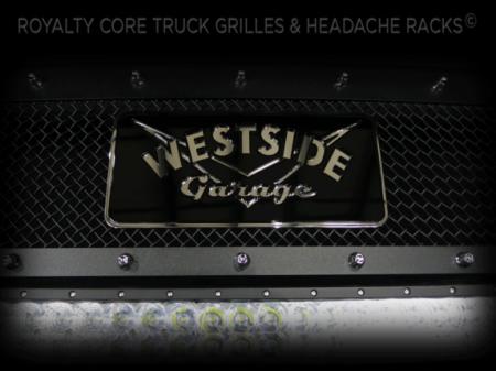 Gallery - CUSTOM DESIGNED LOGOS - Royalty Core - Westside Garage Emblem