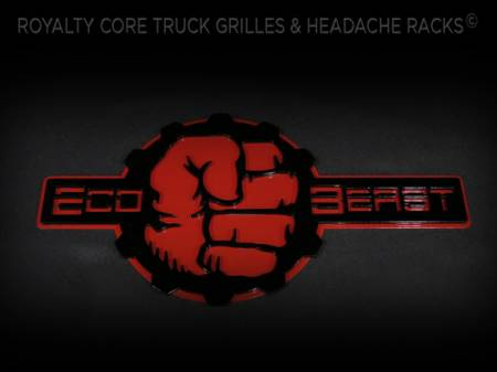 Gallery - CUSTOM DESIGNED LOGOS - Royalty Core - Custom Ecoboost Hulk Emblem