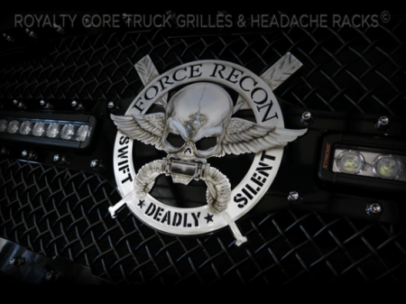 Gallery - CUSTOM DESIGNED LOGOS - Royalty Core - Custom American Force Recon Emblem