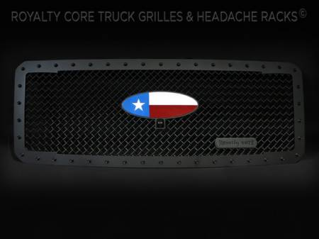 Gallery - CUSTOM DESIGNED LOGOS - Royalty Core - Texas Oval Emblem