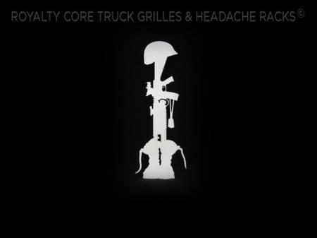 Gallery - CUSTOM DESIGNED LOGOS - Royalty Core - Custom Fallen Soilder Emblem