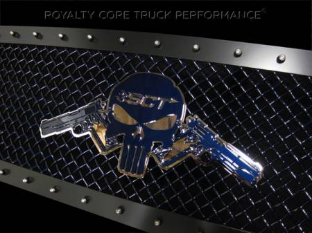 Gallery - CUSTOM DESIGNED LOGOS - Royalty Core - 1911's with Custom Lettering