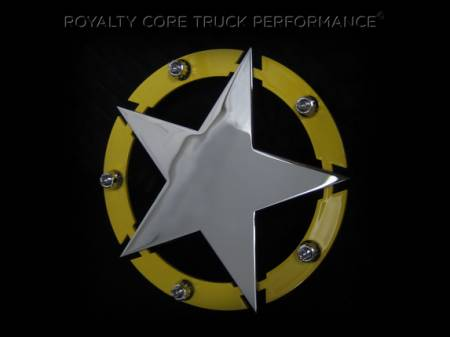 Gallery - CUSTOM DESIGNED LOGOS - Royalty Core - Texas Star With Studs