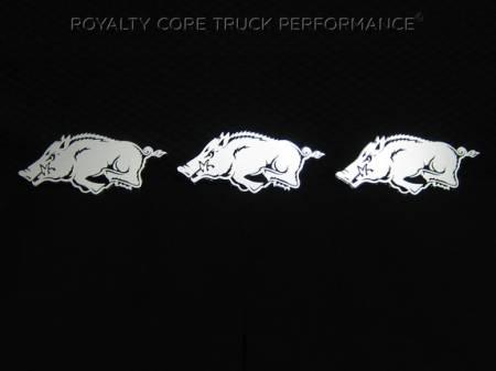 Gallery - CUSTOM DESIGNED LOGOS - Royalty Core - Arkansas Razorback Logos