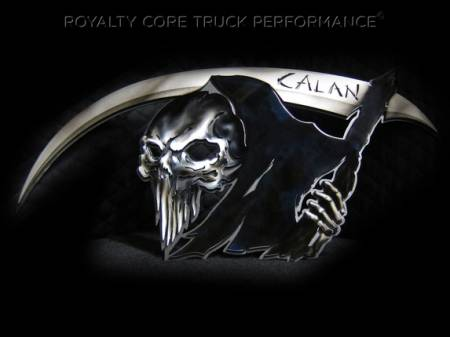Gallery - Custom Emblems, Logos, and Badges - Royalty Core - Custom Airbrushed Reaper