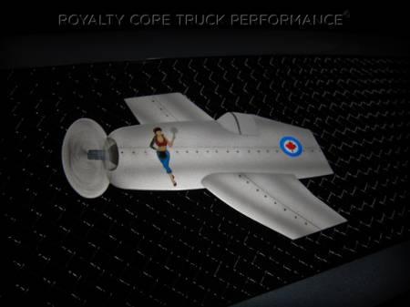 Gallery - CUSTOM DESIGNED LOGOS - Royalty Core - Airbrushed Airplane Logo