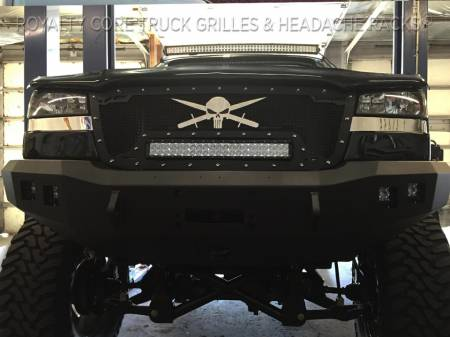 Chevy Grilles - 2500/3500 - 2003-2004 2500/3500 Grilles