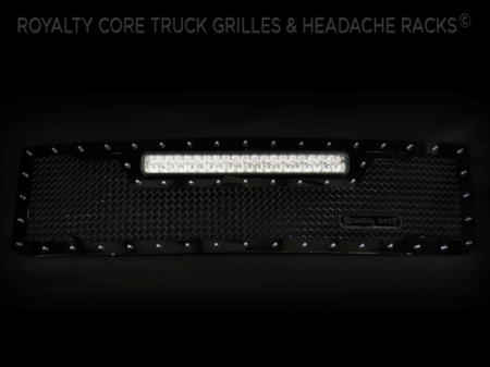 Gallery - RCX LED GRILLES - Royalty Core - 2015 Chevy 2500/3500 HD RC1X Top Mount