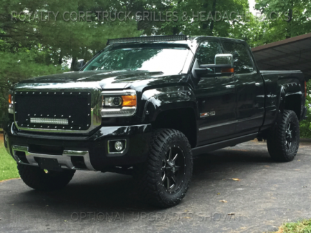 Gallery - RCX LED GRILLES - Royalty Core - 2015-2016 GMC 2500/3500 Sierra HD RCRX