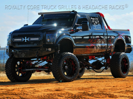 Gallery - RCX LED GRILLES - Royalty Core - 2011-2015 Ford Superduty RC2X
