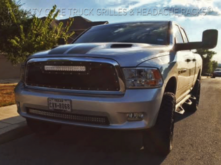 Gallery - RCX LED GRILLES - Royalty Core - 2009-2012 Ram 1500 2009-2012 RCRX Top Mount