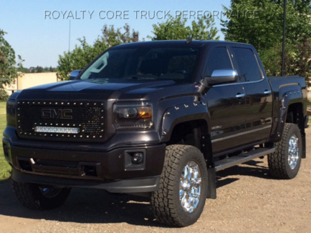 Gallery - RCX LED GRILLES - Royalty Core - 2014-2015 GMC Sierra 1500 RC1X with GMC Logo
