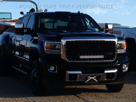 Gallery - RCX LED GRILLES - Royalty Core - 2015 GMC HD Denali RC1X