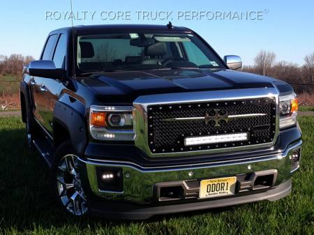 Gallery - RCX LED GRILLES - Royalty Core - 2014-2015 GMC Sierra & Denali 1500 RC1X LED Grille