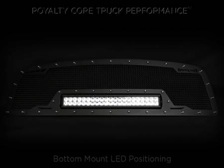 Gallery - RCX LED GRILLES - Royalty Core - 2010-2012 Ram 2500/3500 RCRX