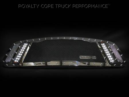 Gallery - RCX LED GRILLES - Royalty Core - 2013-2015 Ram 1500 Chrome RCX