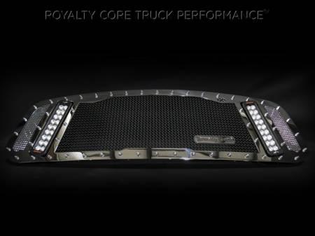 Gallery - RCX LED GRILLES - Royalty Core - 2013-2015 Ram 1500 Chrome RCX