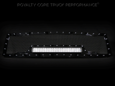 Gallery - RCX LED GRILLES - Royalty Core - 2015 Chevy 2500/3500 HD RC1X