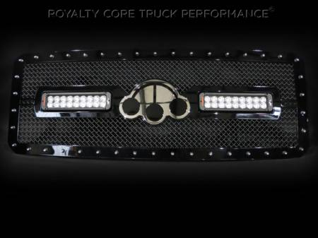 Gallery - RCX LED GRILLES - Royalty Core - Ford Super Duty RC2X LED Custom Grille