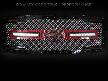 Gallery - RCX LED GRILLES - Royalty Core - 2014 Ford F-350 Custom LED Grille