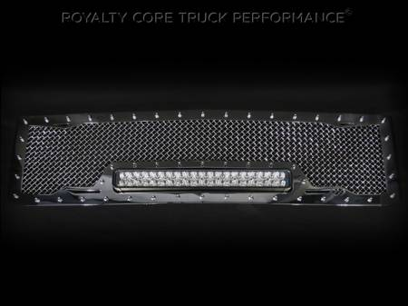 Gallery - RCX LED GRILLES - Royalty Core - 2015 Chevy HD 2500/3500 RC1X Chrome