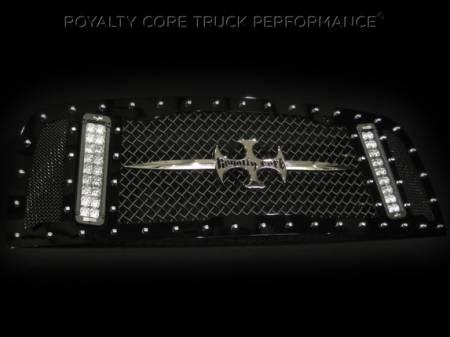 Gallery - RCX LED GRILLES - Royalty Core - 2013 Dodge Ram RCX