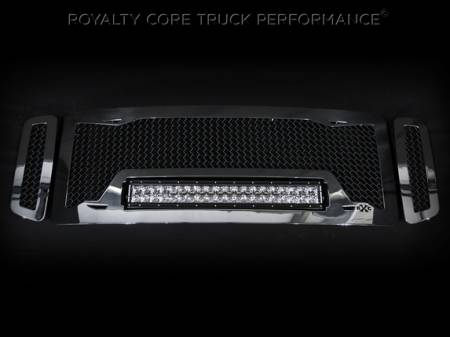 Gallery - RCX LED GRILLES - Royalty Core - Ford Super Duty 2005-2007 RC1X