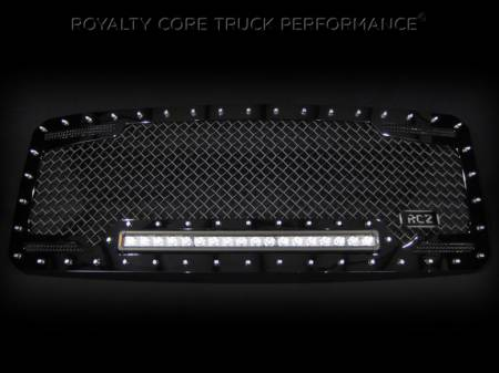 Gallery - RCX LED GRILLES - Royalty Core - 2013 Ford F-250 RC1X