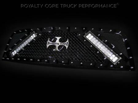 Gallery - RCX LED GRILLES - Royalty Core - 2010-2012 Dodge Ram Custom RCX