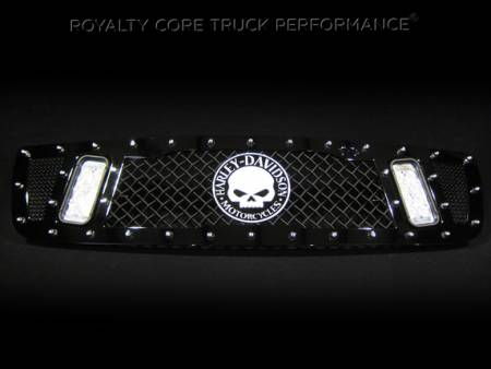 Gallery - RCX LED GRILLES - Royalty Core - 2006 GMC 2500 Custom RCX
