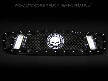 Gallery - RCX LED GRILLES - Royalty Core - 2006 GMC 2500 Custom RCX