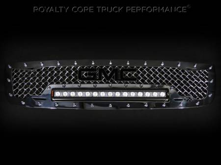 Gallery - RCX LED GRILLES - Royalty Core - 2003-2006 GMC Sierra HD RC1X