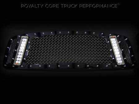 Gallery - RCX LED GRILLES - Royalty Core - 2003-2005 Dodge Ram 2500/3500 RCX Grille