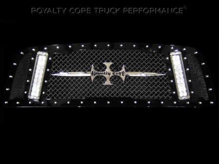 Gallery - RCX LED GRILLES - Royalty Core - 2013+ Ram 2500/3500 RCX