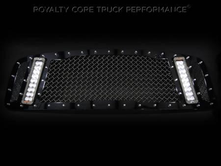 Gallery - RCX LED GRILLES - Royalty Core - 2003-2005 Dodge Ram 2500/3500 RCX