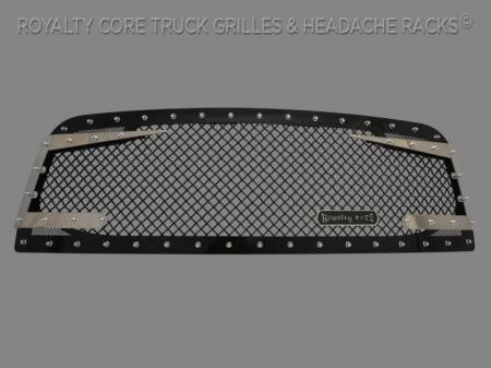 Grilles - RC3DX - Royalty Core - Dodge Ram 2500/3500 2010-2012 RC3DX Gloss Black Main Grille
