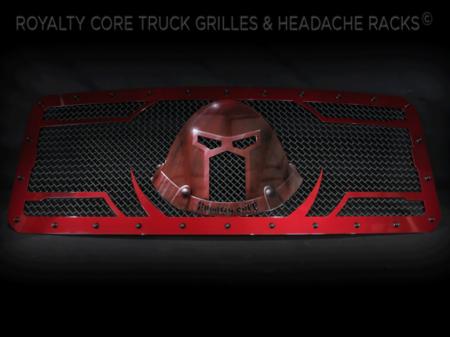 Gallery - CUSTOM GRILLES - Royalty Core - 2016 Ford Superduty Custom Grille w/ Juggernaut