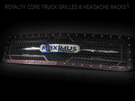 Gallery - CUSTOM GRILLES - Royalty Core - 2015-2016 Custom Chevy Silverado 2500/3500