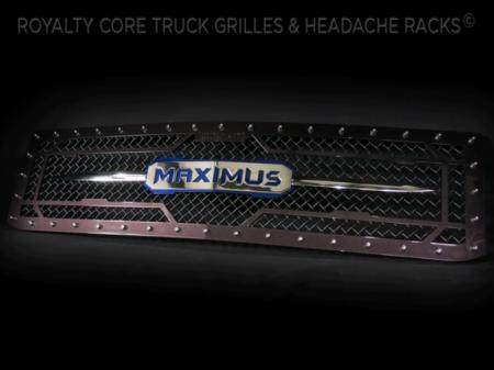 Gallery - CUSTOM GRILLES - Royalty Core - 2015-2016 Custom Chevy Silverado 2500/3500