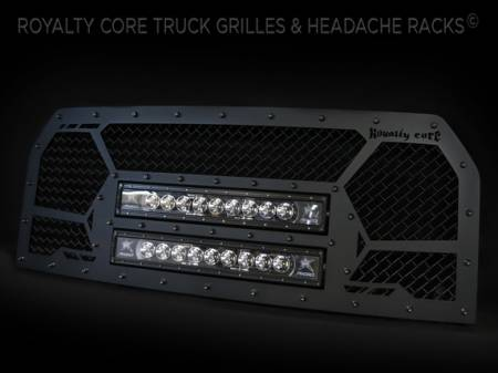 Gallery - CUSTOM GRILLES - Royalty Core - Ford F-150 2015-2016 Custom LED Grille