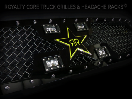 Gallery - CUSTOM GRILLES - Royalty Core - 2014-2015 Toyota Tundra Custom RCX w/ Rockstar Garage