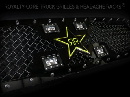 Gallery - CUSTOM GRILLES - Royalty Core - 2014-2015 Toyota Tundra Custom RCX w/ Rockstar Garage