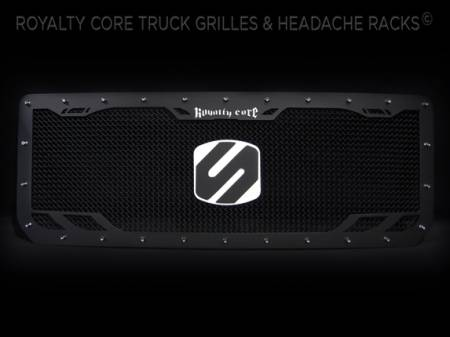 Gallery - CUSTOM GRILLES - Royalty Core - 2015 GMC Denali 2500 Custom Grille RCRX Style
