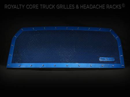 Gallery - CUSTOM GRILLES - Royalty Core - Custom Color Match on Frame and Mesh