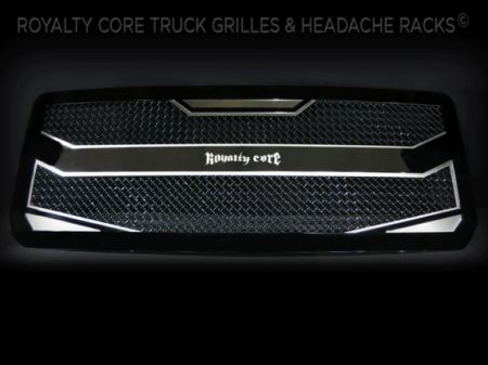 Gallery - CUSTOM GRILLES - Royalty Core - 2015-2016 GMC Denali HD Custom Grille